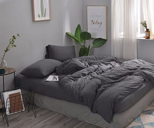 bedding, bedroom, and home decor image