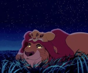 cartoons, disney, and the lion king image