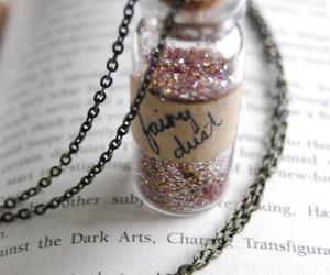 book, fairy dust, and harry potter image
