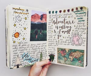 art, colour, and journal image
