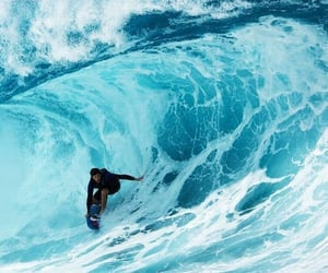 surf, ocean, and sea image