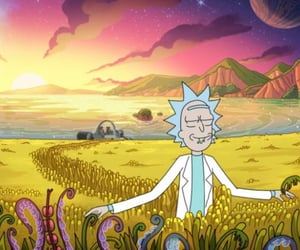 cartoon, rick, and tv series image