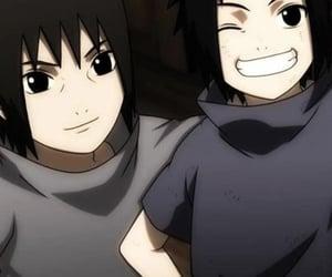 anime, itachi, and sasuke image