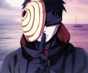 akatsuki, anime, and obito image