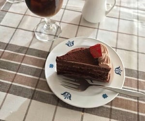 cake, swet, and food image