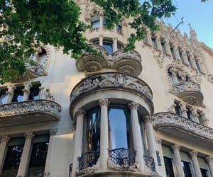 architecture, Barcelona, and home image
