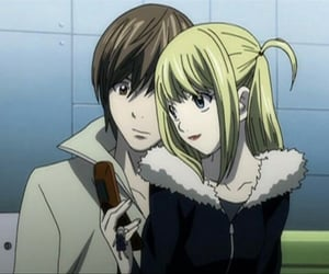 anime, deathnote, and misa amane image