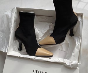 boots, celine, and fashion image