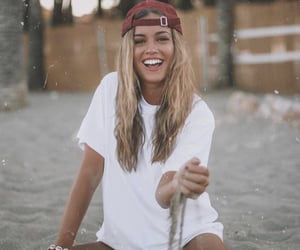 fashion, hat, and smile image