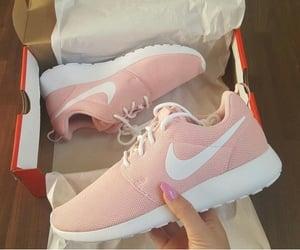 girl, pink, and nike image
