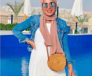 beach wear, vacation, and beach bag image