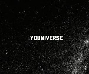black, edit, and galaxy image