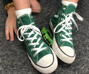 aesthetic, green, and converse image