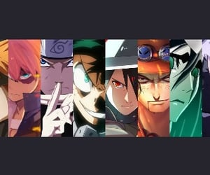 anime, naruto, and twitter cover image