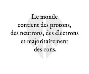 cons, electron, and francais image