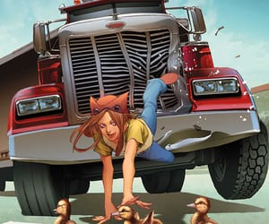 comic art, cover, and molly hayes image