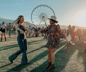 besties, bffs, and coachella image