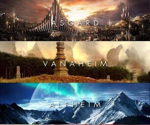 thor, asgard, and Marvel image