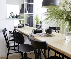 dining room, dining table, and ikea image