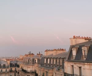 paris, rooftops, and love image