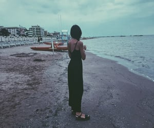 beach, evening, and fashion image