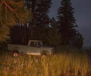 countryside, night, and truck image