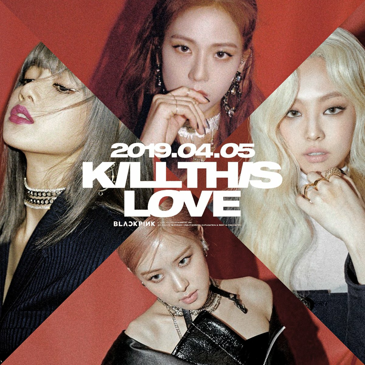 Mini Album Blackpink [KILL THIS LOVE] on We Heart It
