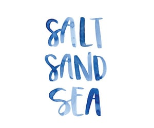 quotes, sea, and sand image