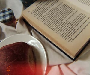 book, mood, and breakfast image