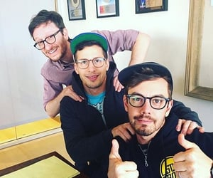 akiva schaffer, the lonely island, and andy samberg image