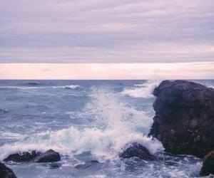 sky, ocean, and water image