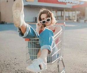 cart, ideas, and shoes image