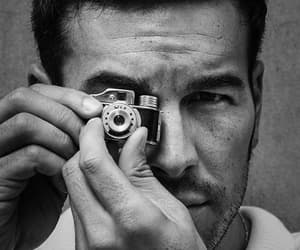 black and white, mario casas, and actor image