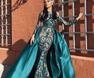 evening gown, robe de soirée, and elegant evening dress image