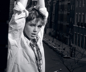 1960s, beads, and edie sedgwick image