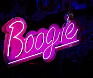 Boogie, light, and neon image