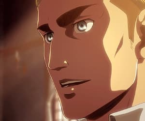 anime, Erwin, and handsome image