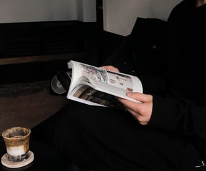 black, book, and Darkness image