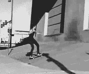90s, backflip, and black and white image