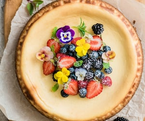 cheesecake, desserts, and food image