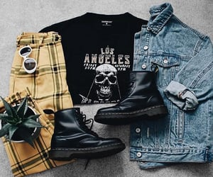 aesthetic, checkered, and grunge image