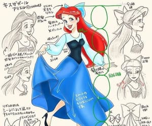 ariel, fable, and princess image
