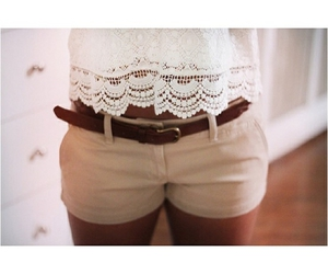 fashion, belt, and brown image