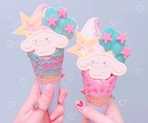 cinnamoroll, kawaii aesthetic, and ice cream image