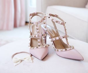 pink, studs, and fashion image