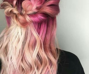 art, braid, and cool image