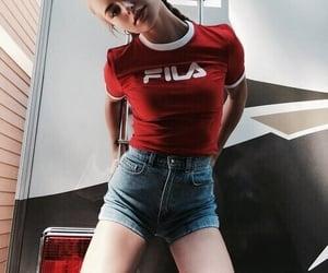 Fila, girl, and model image