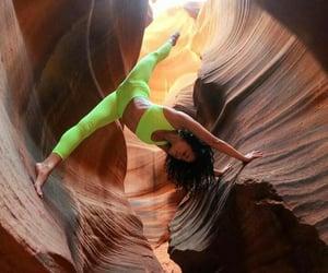 cool, poses, and yoga image
