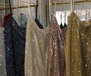 aesthetic, diamond, and dress image