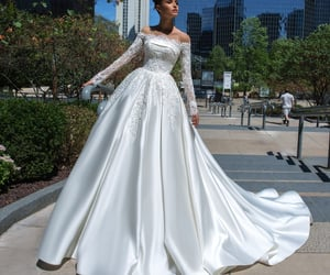 bridal, bride, and style image